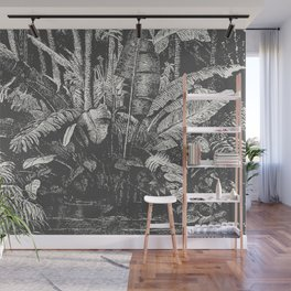 Palms in Water Wall Mural