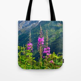 Fireweed ~ Mid-Summer Tote Bag