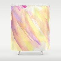 rapunzel Shower Curtains featuring Rapunzel by Mariam Mihjazi
