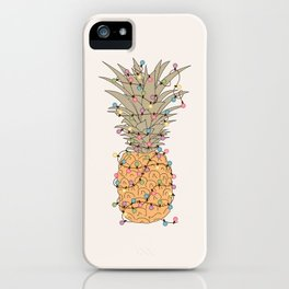 Tropical Lights iPhone Case