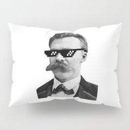 Thug Nietzsche Pillow Sham