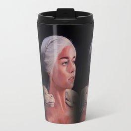 Mother Of Falcor oil on Canvas Travel Mug