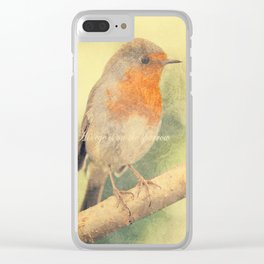 His eye is on the sparrow Clear iPhone Case
