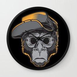 The Blackout Monkey Wall Clock