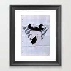 Beard01 Framed Art Print