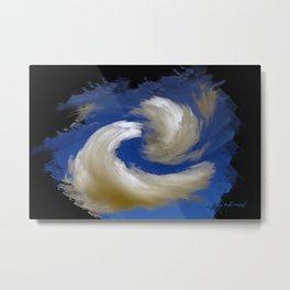 """Restless Love Clouds"" Metal Print"