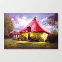 once upon a  time Canvas Prints featuring Once upon a time by INA FineArt