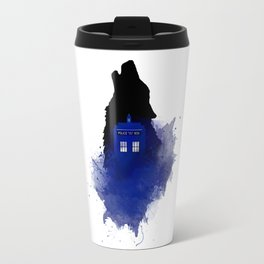 Dr.Who, Art, Design, Dr. Who Art, BadWolf, Bad Wolf Travel Mug