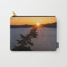 Sunset Tree Top Carry-All Pouch