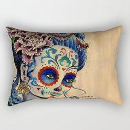 Marie de los Muertos Rectangular Pillow