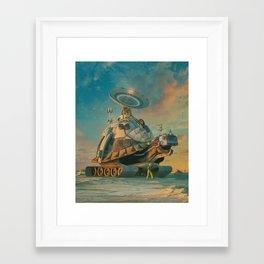 SLOW INTERNET (everyday 10.05.18) Framed Art Print