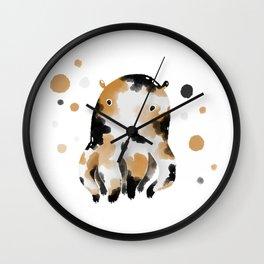 Calico Octopus Wall Clock