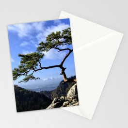 Pieniny Mountains Tree of Life in Poland Stationery Cards