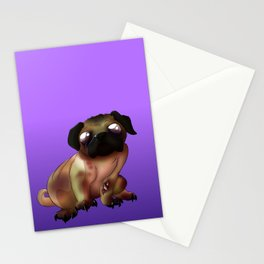 Night of the living Pug  Stationery Cards