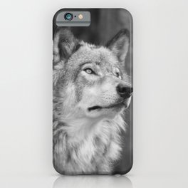 Beautiful wolf iPhone Case