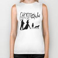 madonna Biker Tanks featuring Madonna - Ghosttown  by franziskooo