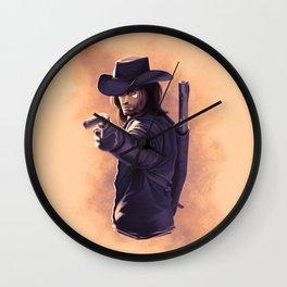 Gunslinger Wall Clock