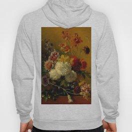 "George Jacobus Johannes van Os ""Still Life with Flowers"" Hoody"