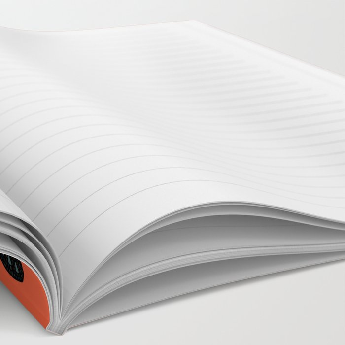 panda orange Notebook