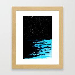 No Noise Framed Art Print