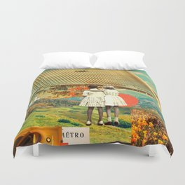 They Know Better Duvet Cover