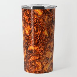 Lava texture Travel Mug