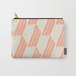 minimalist series: pink hex tiles Carry-All Pouch