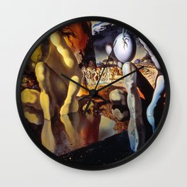Salvador Dali Metamorphosis of Narcissus 1937 Artwork for Wall Art, Prints, Posters, Tshirts, Men, Women, Kids Wall Clock