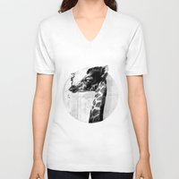 grace V-neck T-shirts featuring GRACE by kravic