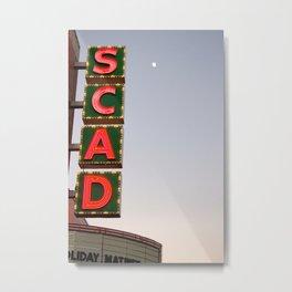 SCAD Metal Print