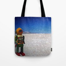 Toy Robots Attack Tote Bag