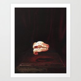 Floating Overbite Art Print