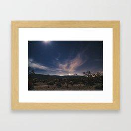 setting Venus Framed Art Print