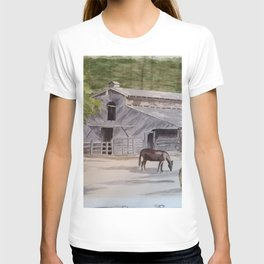 Old Horse Barn T-shirt