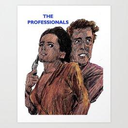 The Professionals Art Print