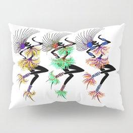 MARDI GRAS GIRLS 3 Pillow Sham
