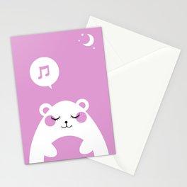 Sound Asleep Bear Stationery Cards