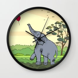 Lucas | Elephant Wall Clock