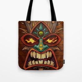 Tiki Head Style 3 Tote Bag