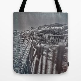 Crystal Cove Abandoned Beach Homes. Tote Bag
