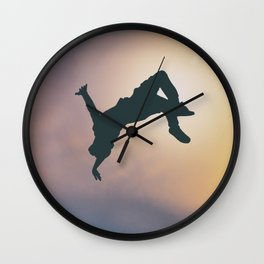 Catching Air Wall Clock