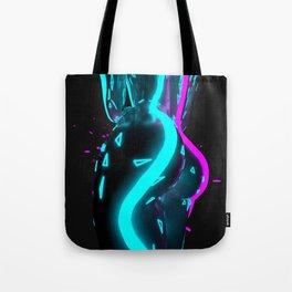 Neon Dream On Tote Bag