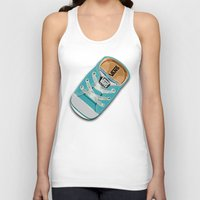 vans Tank Tops featuring Cute blue teal Vans all star baby shoes iPhone 4 4s 5 5s 5c, ipod, ipad, pillow case and tshirt by Three Second