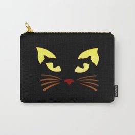 Black Cat at Night Carry-All Pouch