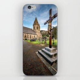 Crucifixion of Jesus iPhone Skin
