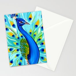 Peacock for Phone Case Stationery Cards