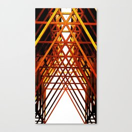 Criss Cross Canvas Print
