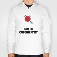 chemistry Hoodies featuring Basic Chemistry by Oinkasaurus