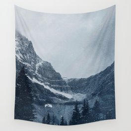 Snowy Mountains Wall Tapestry