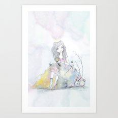 Princess 100 Art Print